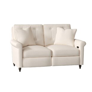 Allen Reclining Loveseat by Wayfair Custom Upholstery™ Sale