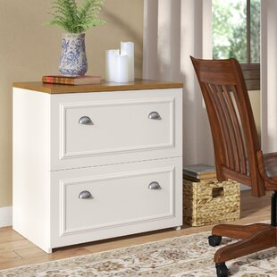 Beachcrest Home Oakridge 2-Drawer Lateral Filing Cabinet