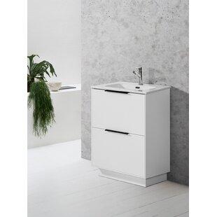 Gavrilovic 61mm Free-standing Single Vanity Unit By Belfry Bathroom