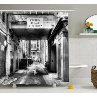 Slow Down Single Shower Curtain by East Urban Home Best Choices