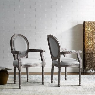 Alina Upholstered Dining Chair (Set of 2) by Ophelia & Co. SKU:DE730077 Buy
