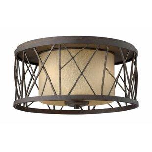 Hinkley Lighting Rehberg 2-Light Flush Mount
