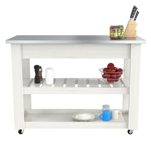 Maglione Stainless Steel Kitchen Cart