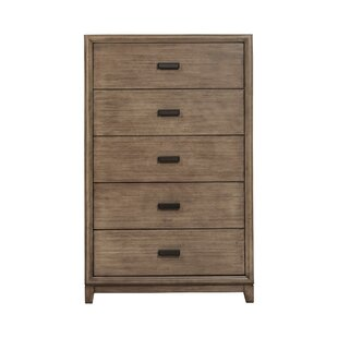 Bonneauville Wooden 5 Drawer Chest