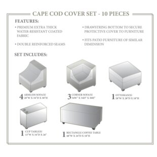 TK Classics Cape Cod Winter 10 Piece Cove..