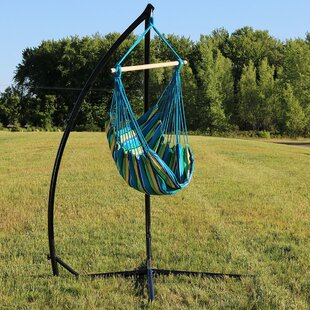 Bay Isle Home Sippel Durable Chair Hammock with Stand