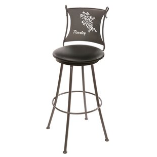Comparison Ching 25 Swivel Bar Stool by Fleur De Lis Living Reviews (2019) & Buyer's Guide