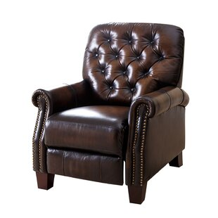 Barnesville Leather Manual Recliner by DarHome Co