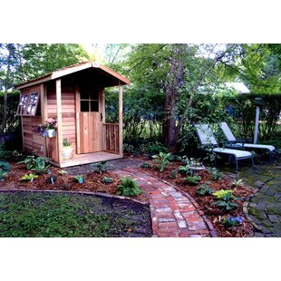 Gardener's Delight 7 Ft. W X 10 Ft. D Wood Storage Shed By Cedarshed