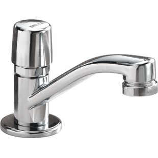 Delta Metering Single Hole Bathroom Faucet