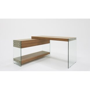 Brim L-Shape Desk by Orren Ellis Wonderful