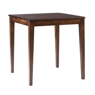 Gambino Wood Dining Table by Bloomsbury Market Reviews