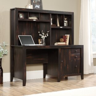 Tomeny Executive Desk With Hutch by Loon Peak Amazing