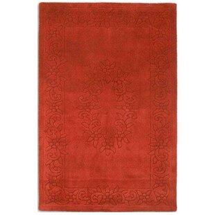 Royal Wool Terracotta Rug by Wildon Home