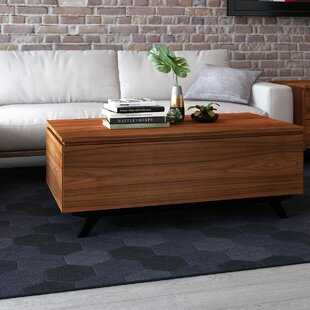 Furnitech The Signature Home Collection Mid-Century Modern Coffee Table