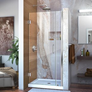 Unidoor 0 x 72 Hinged Frameless Shower Door with Clearmax? Technology by DreamLine