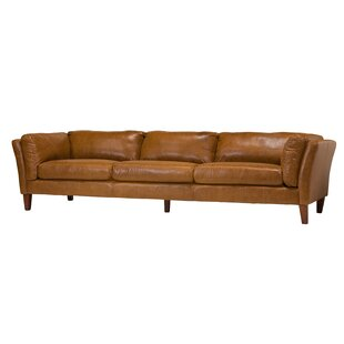 Draper 4 Seater Leather Sofa  by Design Tree Home
