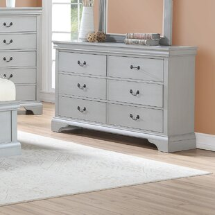 Cinda 6 Drawer Double Dresser By Darby Home Co