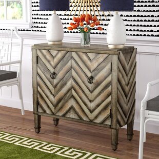 Handover Chevron Accent 2 Door Chest by Bungalow Rose