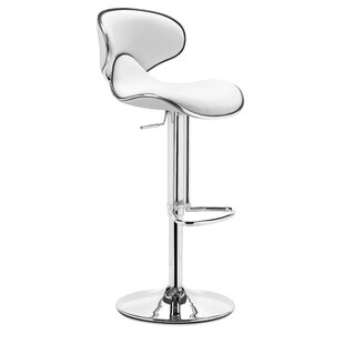 Adjustable Height Swivel Bar Stool Wade Logan