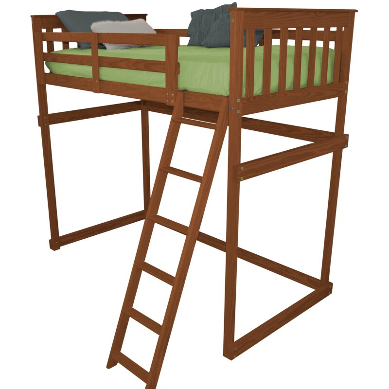 Zoomie Kids Swainsboro Loft Bed With