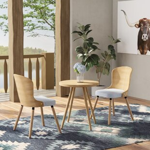 Lindauer 3 Piece Dining Set Union Rustic
