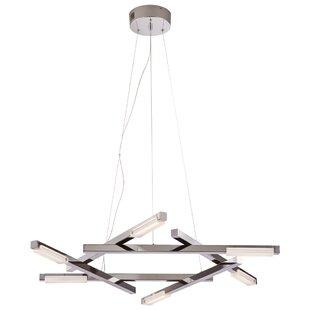 Alverson 1-Light LED Geometric Pendant by Orren Ellis