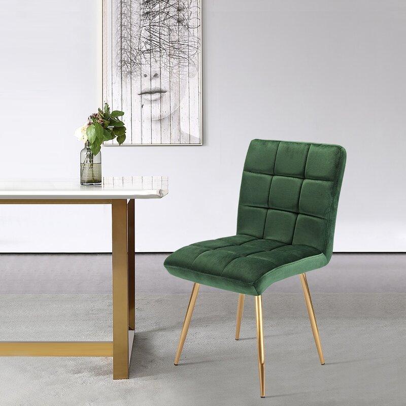 Mercer41 Christopher Upholstered Dining Chair Reviews Wayfair Ca