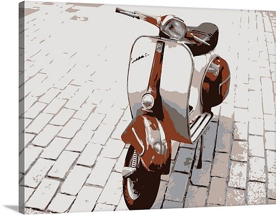 Vespa Scooter Wayfair