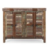 Aldrin 4 Door Accent Cabinet by World Menagerie
