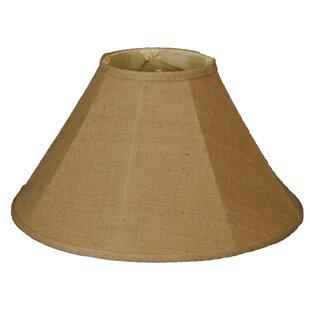 18 Burlap Empire Lamp Shade