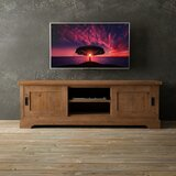 Alderman Solid Wood TV Stand for TVs up to 78 by Loon Peak®