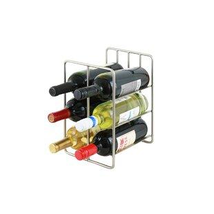 6 Bottle Floor Wine Rack by Rebrilliant
