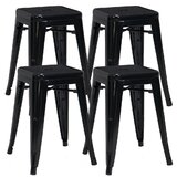 Shively 18'' Short Stool (Set of 4) by Williston Forge