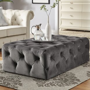 Sagebrush Tufted Cocktail Ottoman