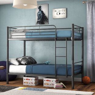 Koffler Twin Over Twin Bunk Bed by Mack & Milo Best #1