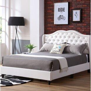 Cobbett Upholstered Panel Bed by Rosdorf Park