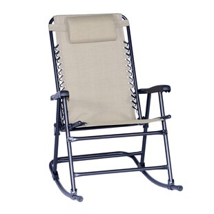 Doyden-Davis Folding Rocking Chair by Red Barrel Studio Great price