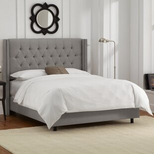 Davina Upholstered Panel Bed