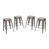 Mesh 26 Bar Stool (Set of 4) by Diamond Sofa