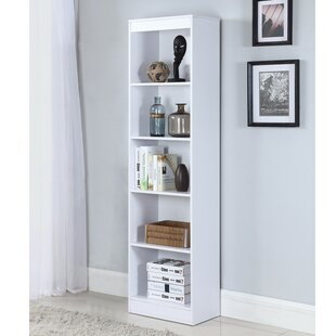 Heard Wooden Standard Bookcase by Ebern Designs