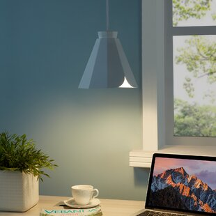Aries Midcentury Modern 1-Light Cone Pendant