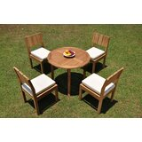 Islais 5 Piece Teak Dining Set