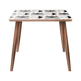 Uecker End Table by Bungalow Rose