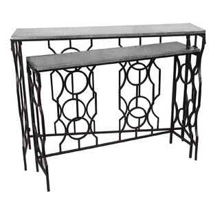 Chipping Norton 2 Piece Nesting Tables by House of Hampton