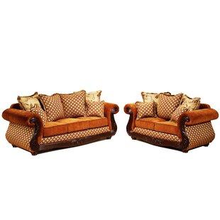 Gardena Sofa Wynn 2 Piece Living Room Set
