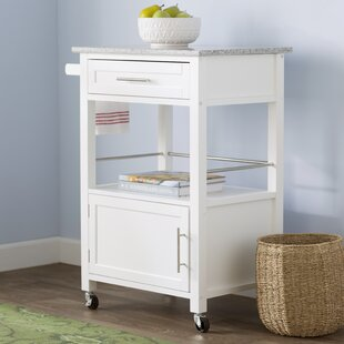 Elsie Kitchen Cart with Granite Top