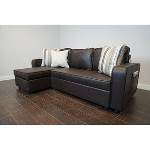 Reviews Piccirillo Reversible Sleeper  Sectional by Ebern Designs Reviews (2019) & Buyer's Guide