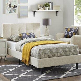 Wrought Studio Molinaro Upholstered Platform Bed