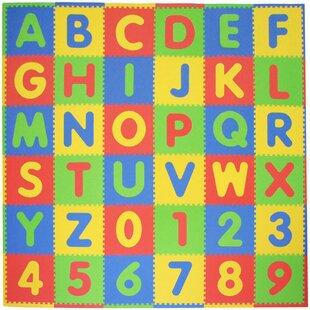 Compare ABC 36 Piece Playmat Set ByTadpoles